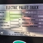 Hangcha 1.5 Ton Li-ion Pallet Truck