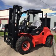 2.5 Ton 2-Wheel Rough Terrain Forklift