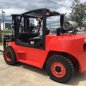 6 T Dual Fuel Forklift