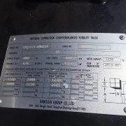 2.5 Ton Dual Fuel Forklift
