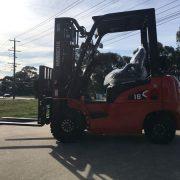 X Series 1.8 Ton Dual Fuel Forklift