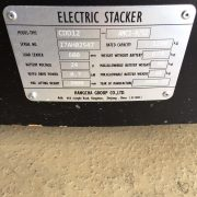 1.2 Ton Electric Stacker