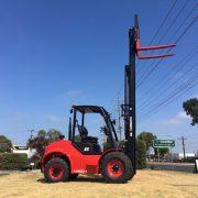 3.5 Ton 4-Wheel Rough Terrain Forklift